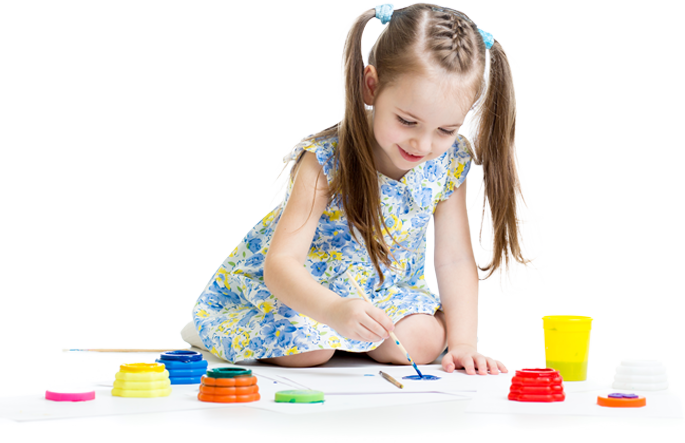 at lighthouse we believe in making learning fun inspirational and focused on the learner be it children or adults - Children Painting Pictures